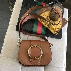 Polo by Ralph Lauren Bags - Polo Ralph Lauren Pebbled Leather Lennox Bag a6db3c39c4de4
